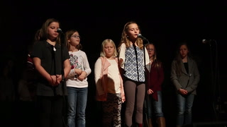 "MAES fourth grade performs ""One Candle"""