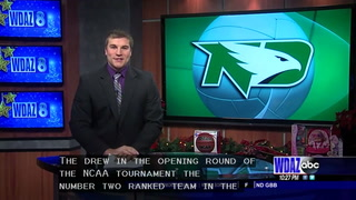 UND volleyball's great season comes to an end against Minnesota