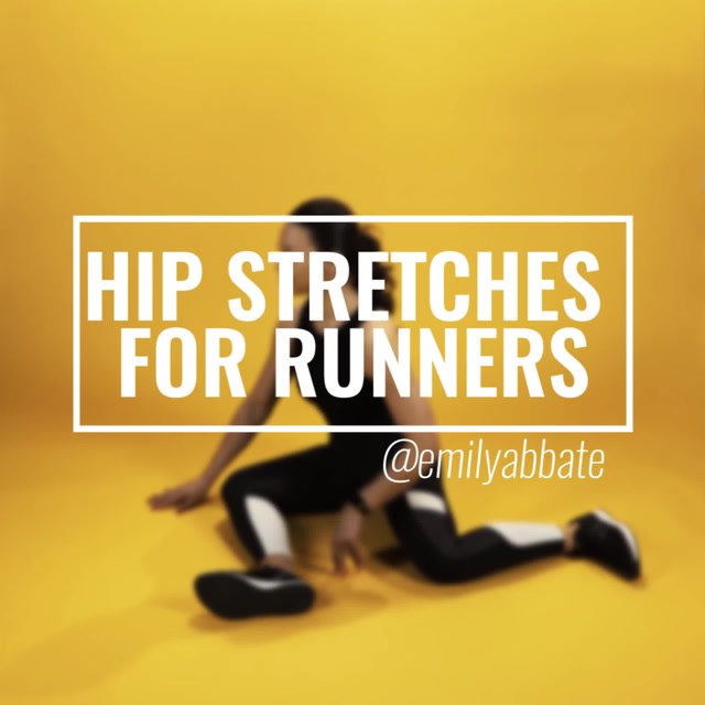 Hip Stretches for Runners with Emily Abbate