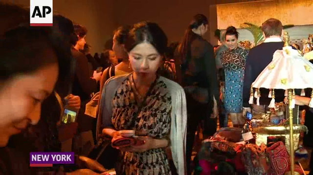 Supermodel overload at Anna Sui's NYFW show