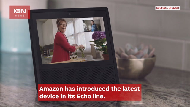 Amazon Unveils the Echo Show, Includes Touchscreen - IGN News