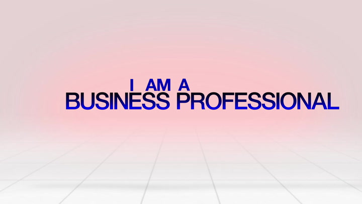 I AM a BUSINESS PROFESSIONAL