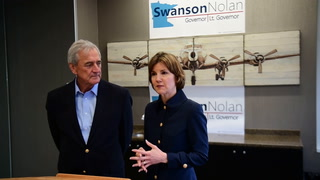 Swanson and Nolan make Brainerd Campaign Stop