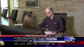 Minnesota man telling his story in hopes of preventing sex trafficking