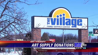 The Village receives large arts and craft donation