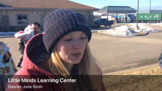 Little Minds Learning Center employees in River Falls staged a walkout Monday, March 25, after workers alleged problems getting paid. Mike Longaecker / RiverTown Multimedia