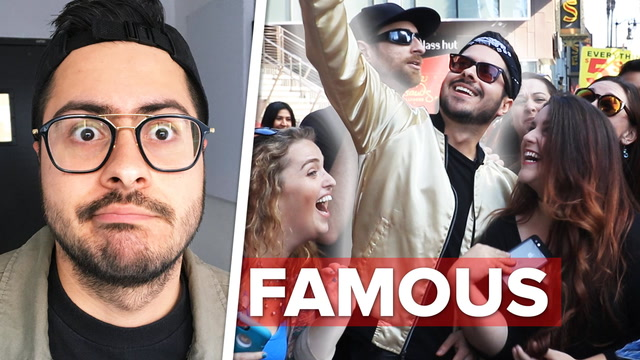 I Tried Being Famous For A Day