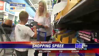 Local students raise money for school supply drive