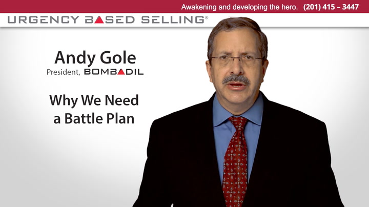 Why We Need a Battle Plan for Sales   Andy Gole
