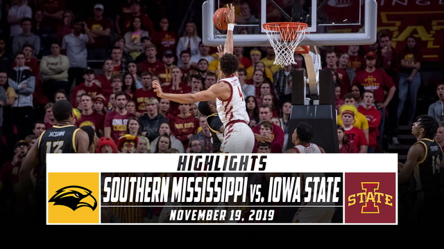 Southern Mississippi vs. Iowa State Basketball Highlights (2019-20)