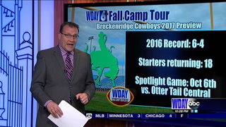 WDAY Fall Camp Tour: Breckenridge Cowboys 2017 Preview