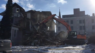 West Avenue demolition