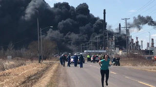 Husky Energy refinery fire
