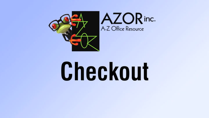 Checkout on shop.AZORinc.com