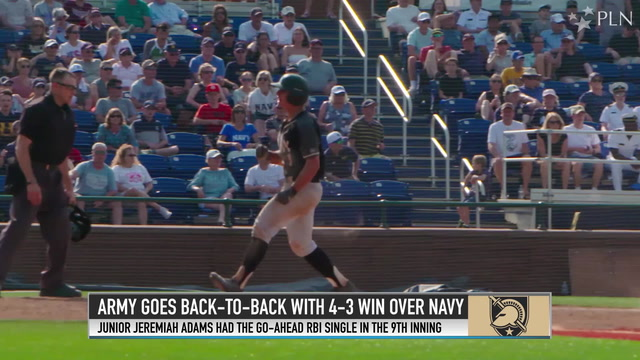 Adams comes up clutch with go-ahead RBI to win championship for Army