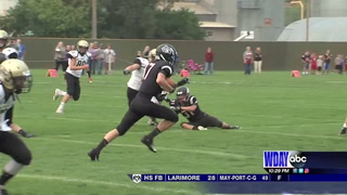 ND 9-man Week 1: L-L-M, Oakes and May-Port-C-G win