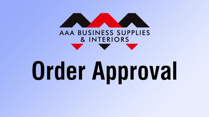 Order Approval on shop.AAAsolutions.com