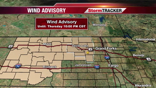 Windy Tomorrow, Cool Down Coming