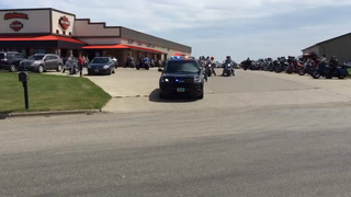 The fifth annual Ride to Silence the Stigma got started at Stutsman Harley Davidson Sunday afternoon.