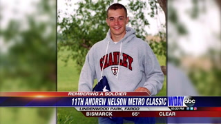 Army Sgt. Andrew Nelson was killed serving in Iraq in 2007. Tuesday will be the 11th year of the Andrew Nelson Metro Classic cross country meet, named in honor of the 2003 Fargo Shanley graduate. Submitted photo