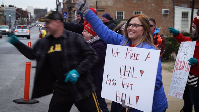 Teachers celebrate as West Virginia strike comes to a close