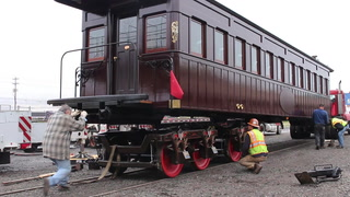 Lincoln's funeral railcar arrives in Duluth