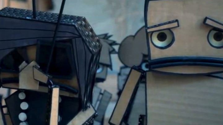 This Short Film Features A World Made Entirely Of Cardboard