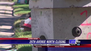 25th Ave near NDSU to be closing