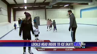 Locals take advantage of open skate at Sports Arena