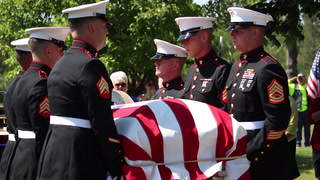 WWII Marine laid to rest in Duluth