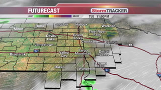 StormTRACKER Forecast: Tuesday Evening Forecast
