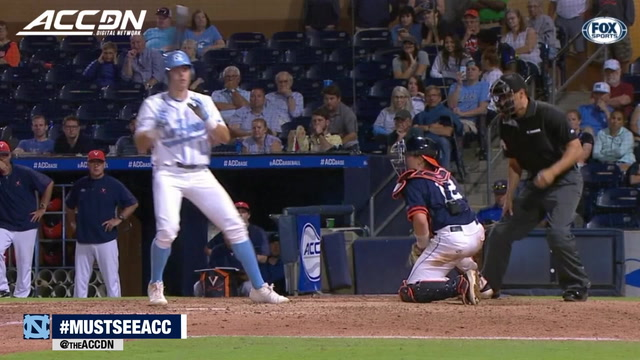 UNC's Caleb Roberts Hit By Pitch In Extra-Innings To Win Game For Tar Heels