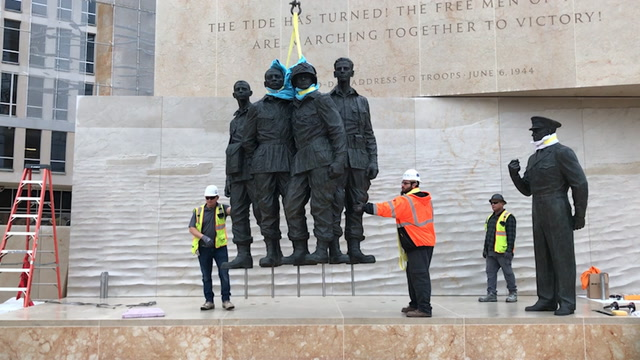 New Eisenhower memorial re-creates the eve of D-Day