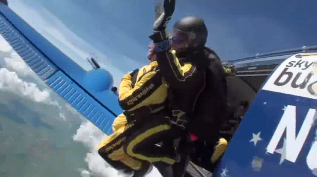 101-Year-Old Breaks World Record For Skydiving