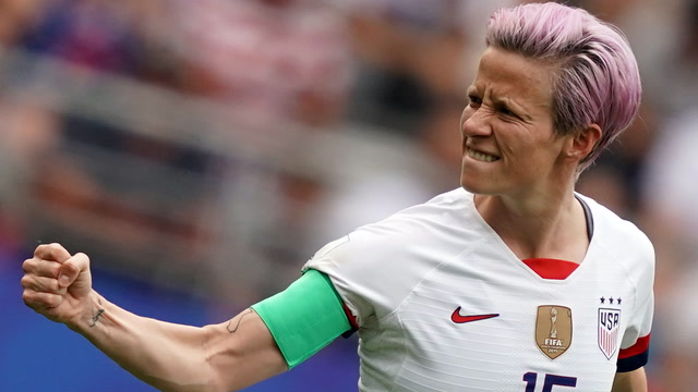 Megan Rapinoe and her attempts to take a stand — and make a point