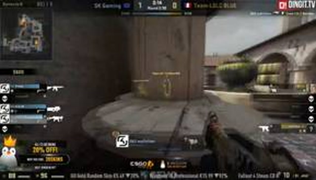 Operation Kinguin #2: LDLC blue vs SK Gaming (BO3 - Map 2)