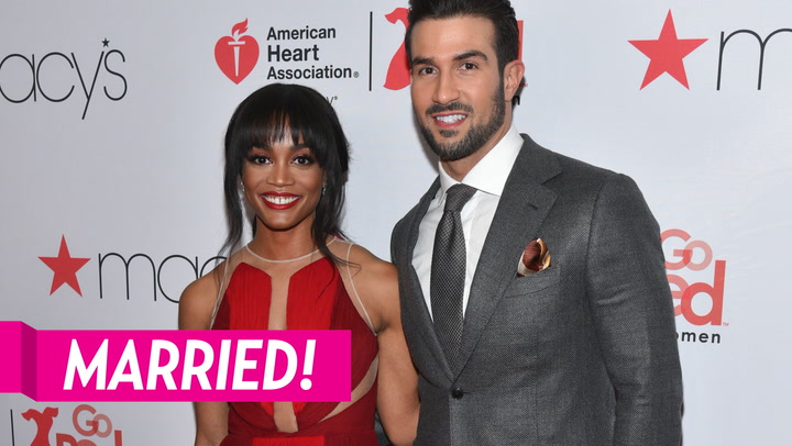 The Bachelorette's Rachel Lindsay and Bryan Abasolo Wed in Romantic Ceremony