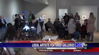 Local artists see their art on display at Rourke Museum
