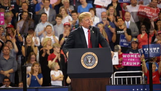 Highlights from President Donald Trump's rally in Duluth