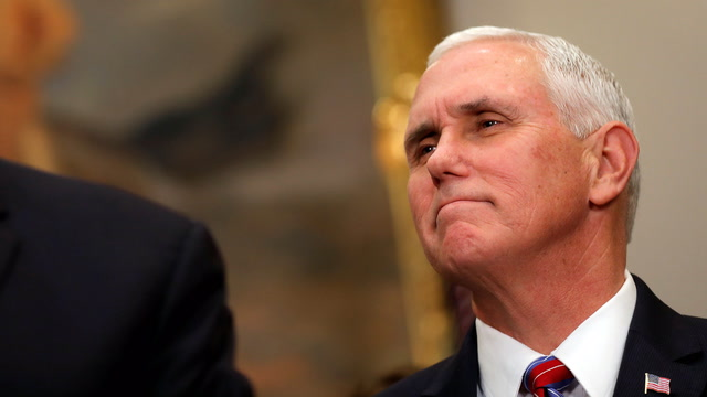 Pence says American leadership in space is 'vital'