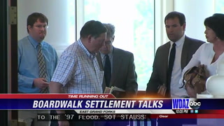 Boardwalk battle: Settlement talks near