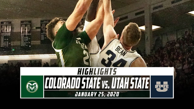 Colorado State vs. Utah State Basketball Highlights (2019-20)