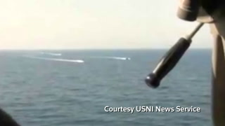 Iran vessels make 'high speed intercept' of U.S. ship