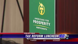 Congressman Cramer celebrates tax reform during 'Americans for Prosperity'  luncheon
