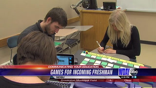 Board game designed to make freshman feel at ease