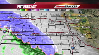 StormTRACKER Forecast Thursday Night