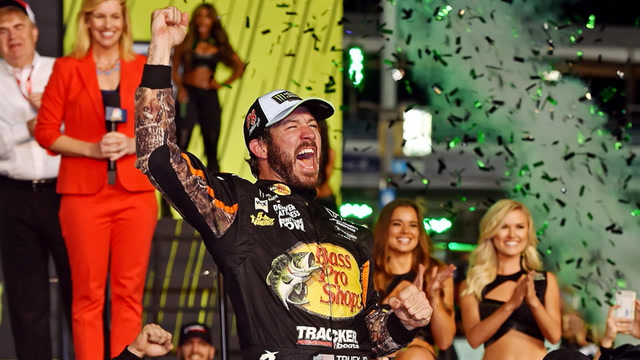 Martin Truex Jr. wins his first career NASCAR Cup Series Championship