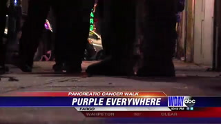 Hundreds participate in Annual Pancreatic Cancer Vigil and Walk