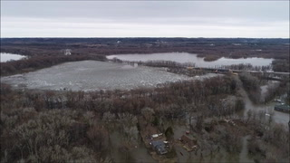 Mississippi River at Red Wing - March 28, 2019