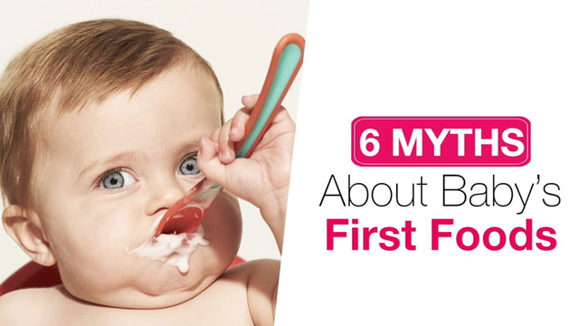 6 Myths About Baby's First Foods